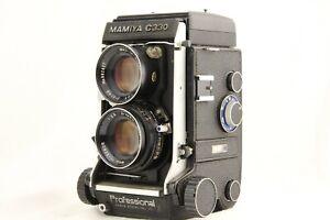 EXC-3-Mamiya-C330-PRO-TWIN-LENS-REFLEX-Sekor-80mm-f-2-8-Blue-Dot-lente-dal-Giappone