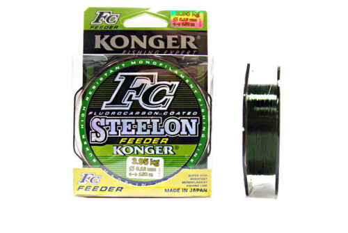 Fluorcarbon Coated Fishing Line Mono Carp Feeder Method quickly stabilized
