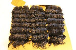 100-Human-Hair-Bundle-Deep-Wave-Weaving-Extensions-Natural-Black