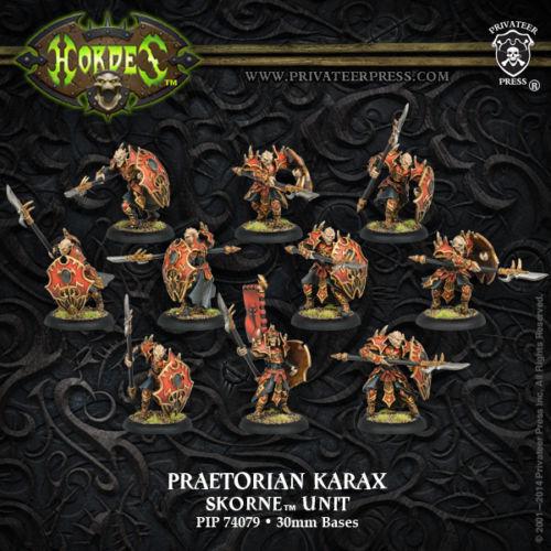 Hordes - Skorne - Praetorian Karax (10) - PIP 74079 - SEALED