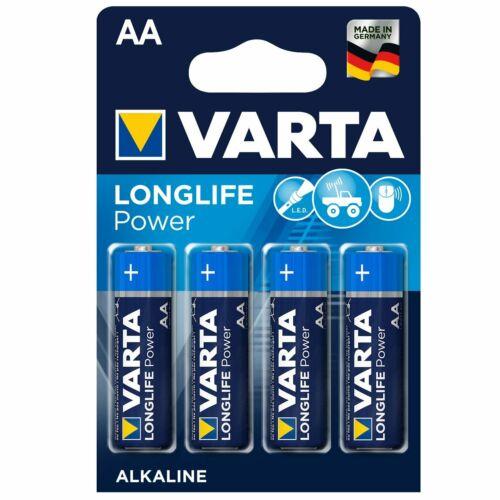 16 x VARTA HIGH ENERGY//LONGLIFE POWER Batterie AA LR6 Mignon 4906 Blister