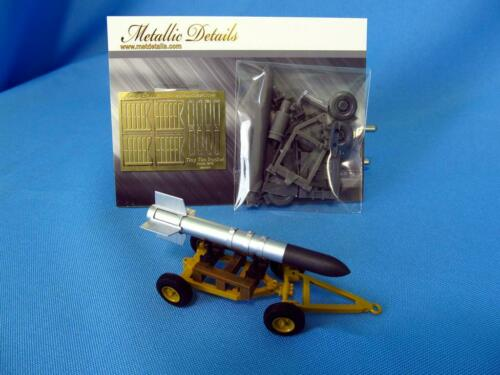 Metallic Details MDR4832 Tiny Tim Rocket with trailer 1//48 scale resin/&photoetch