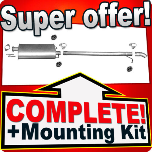 Ford Transit VII 2.4 TDCi Pick-Up Single Cab 06 Silencer Exhaust System R32