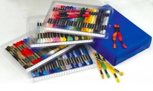 Skein Storage Caddy ~ Cross Stitch Threads Skeins ***FREE P/&P***