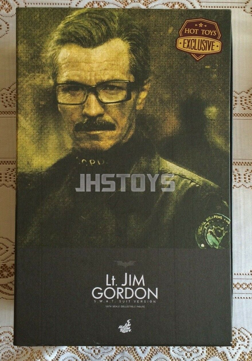 Hot Toys 1 6 The Dark Knight TDK Lt Jim Gordon SWAT Suit Ver 2.0 MMS182 Japan