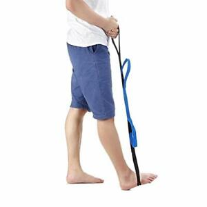Leg-Lifter-Strap-Foot-Rigid-Loop-Lift-with-Two-Hand-Grip-for-Wheelchair-Bed