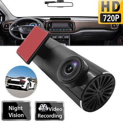 170° USB Auto Dash Cam DVR 720P Full HD Nachtsicht Video Recorder für Android