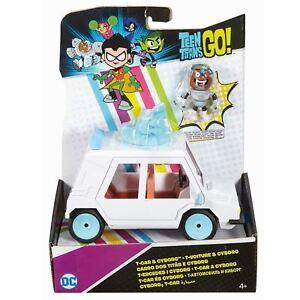 Teen-Titans-Go-DXR06-T-Car-And-Cyborg-Vehicle-Figure