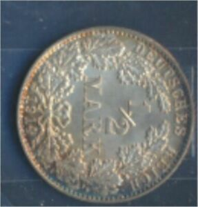 German-Empire-Jagernr-16-1914-J-UNC-Silver-1914-1-2-Mark-large-Imperial-7859375