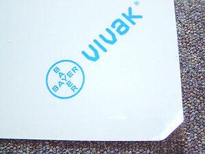 Bayer Vivak Petg 1 Mm épais Crystal Clear Plasticard Feuille A5, A4 & A3-afficher Le Titre D'origine En Voyageant
