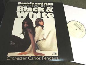 DANIELA-UND-ANN-BLACK-amp-WHITE-Samba-Soul-Beat-NM-LP-RE-039-08-039-69-Carlos-Fendeira