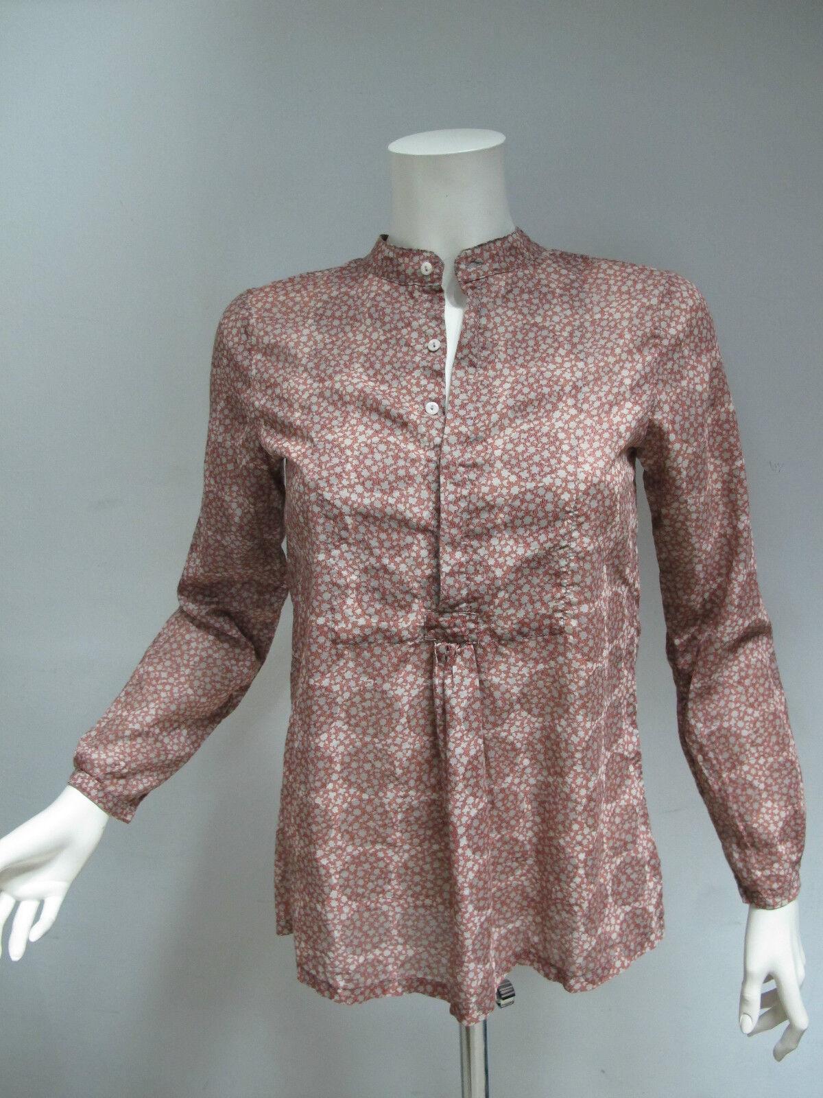 H. Eich Damenhemd Fantasie Art.hc1178 Kol. Beige Rost Größe 44 Winter 2011