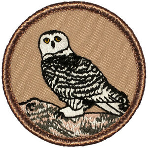 Owl wood badge critter patch beads boy cub scouts csp | ebay.