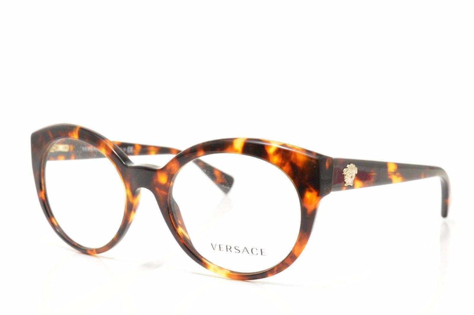 e2cca45235e Versace Ve 3217 5148 53 Havana Frame Eyeglasses for sale online