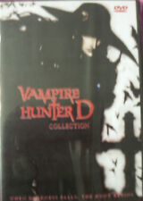 Vampire Hunter D DVD (Both Special Edition & Blood Lust!)   2 Movies!  English