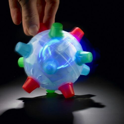BOUNCING BOPPER LIGHT BALL DANCING LIGHT SHOW ADHT SENSORY AUTISM FUN TOY MOOD
