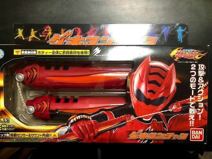 Power Rangers Bandai Sentai Gekiranger Gekinunchaku Red