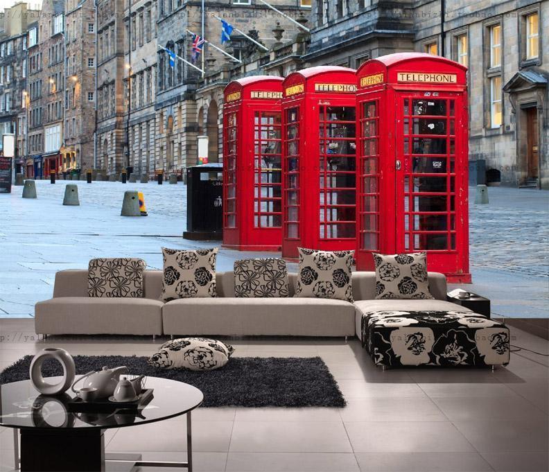 3D City Phone Stiefelh 82 Wall Paper Murals Wall Print Wall Wallpaper Mural AU Kyra