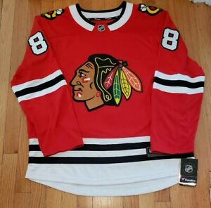 official photos df752 1bd99 Details about Patrick Kane Chicago Blackhawks Fanatics Branded Breakaway  Jersey - Red XL NWT