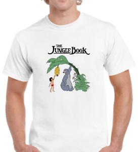 Men/'s,Unisex Jungle Book,Baloo,Mowgli,Funny,Retro,Movie,Iconic T-Shirt P269