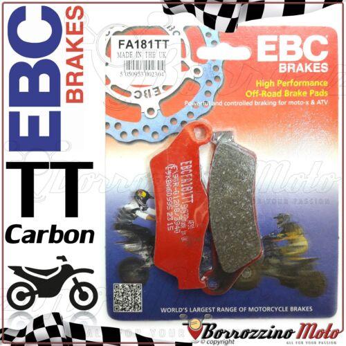 PASTIGLIE FRENO ANTERIORE EBC CARBON FA181TT KTM EXC 450 2015