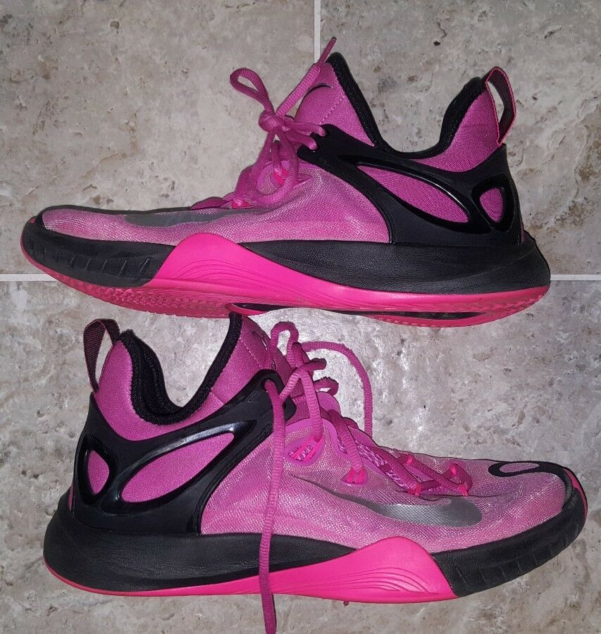 Nike Zoom Hyperrev 2015 THINK PINK 705370-606 Kay Yow Basketball Shoes Men's 8.5