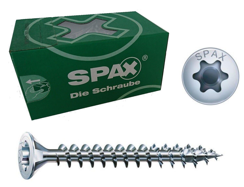 ABC Spax Senkkopf Spanplattenschraube Ø 4,0mm Vollgewinde silber verz I-Stern   | Reichhaltiges Design