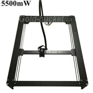 diy metal body laser gravur maschine 30x40cm 5 5w logo image cutter engraving ebay. Black Bedroom Furniture Sets. Home Design Ideas