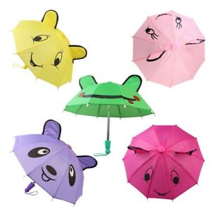 Cute-Umbrella-For-18-inch-Girl-Doll-Party-Clothing-Accessory-Toy