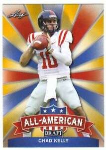 2017-Leaf-Draft-Football-All-American-Gold-AA-03-Chad-Kelly