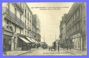 CPA-44-Postal-SAINT-NAZAIRE-la-calle-Ciudad-de-Martin-en-la-Altura-de-la
