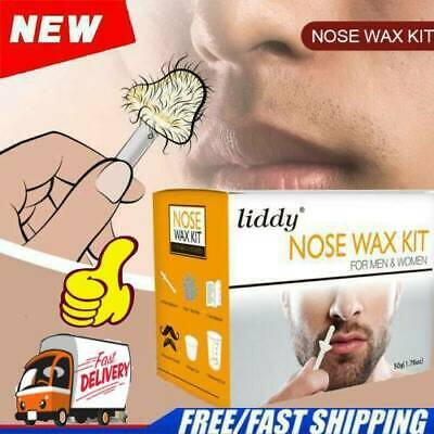 Liddy Nose Ear Hair Removal Wax Kit Painless Easy 50g Waxing U