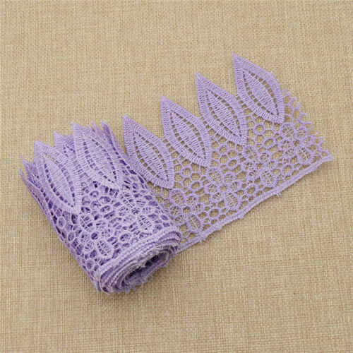 1yard Embrodery Crochet Lace Edge Trim Ribbon Various Colors Trimming Decoratif