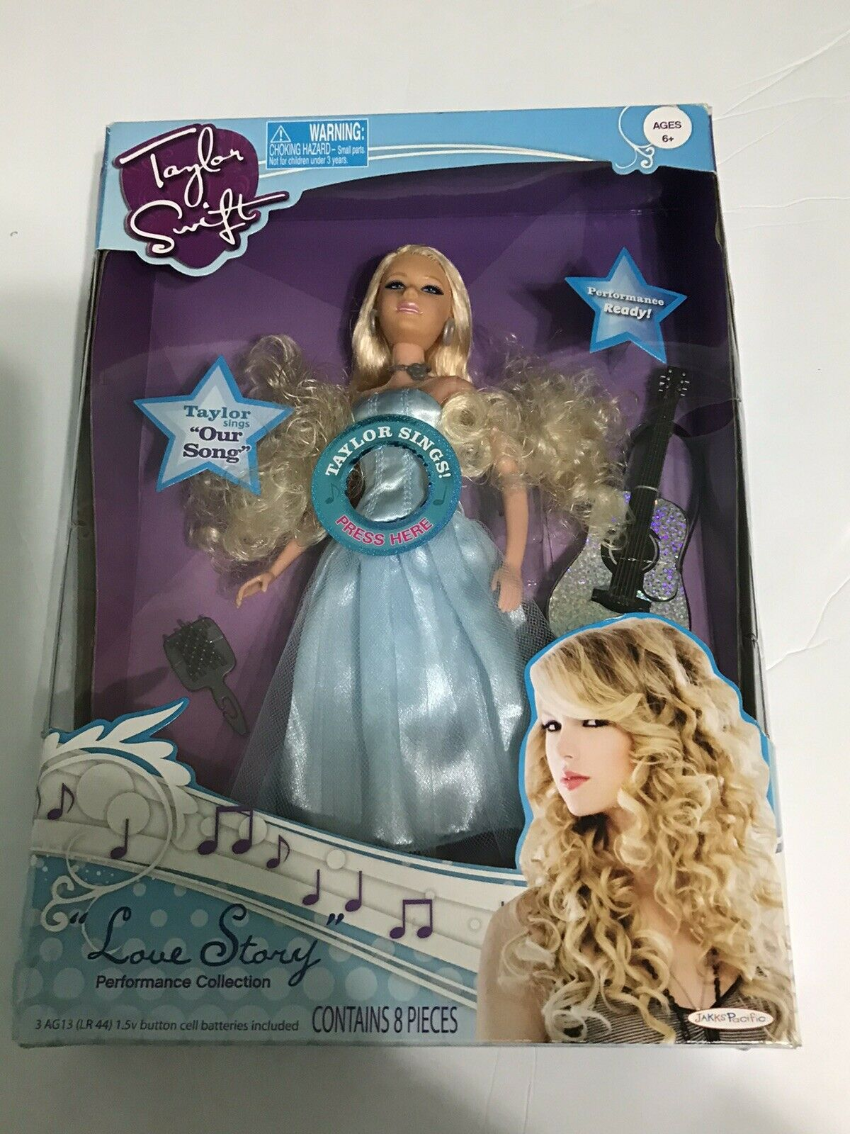 Opps Error Taylor Swift Love Story Performance Collection Jakks Pacific 2009 For Sale Online