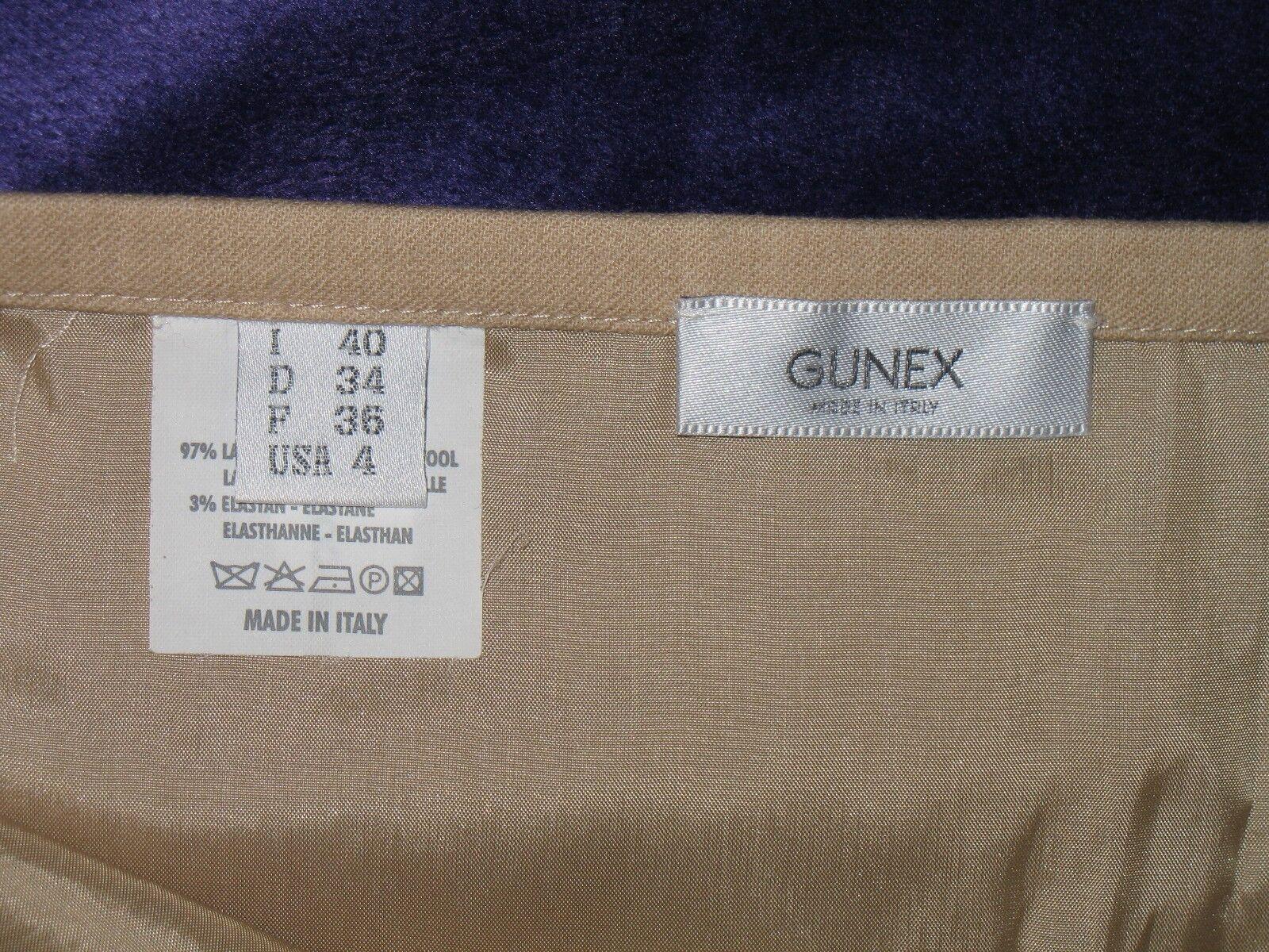 Gonna lunga beige beige beige originale Gunex (Brunello Cucinelli) lana vergine taglia 40 decbce