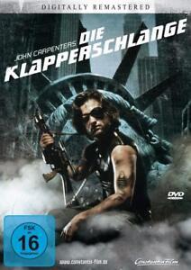 Die-Klapperschlange-DVD-NEU-OVP-Kurt-Russell-von-John-Carpenter