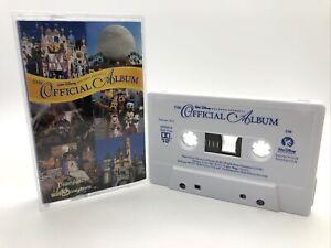 The Official Album: Disneyland/Walt Disney World Cassette Tape 60945-0 RARE