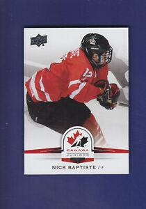 Nick-Baptiste-SP-2014-15-UD-Hockey-Team-Canada-Juniors-123