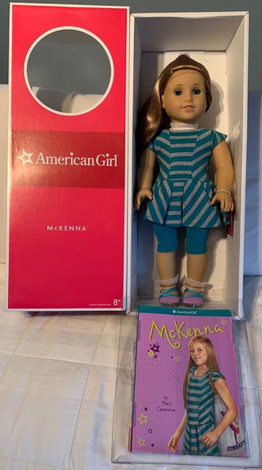 Nuevo American Girl Muñeca de McKenna del año 2012 Goty retirado En Caja Original Body Tag 2012