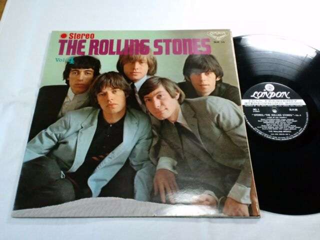 ROLLING STONES VOL.4 OUT OF OUR HEADS JAPAN ORIGINAL LONDON SLH 36 DIFF COVER