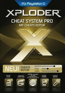 Sony PS3 Playstation 3 Xploder Ultimate Cheating System Pro Cheat Edition 2019