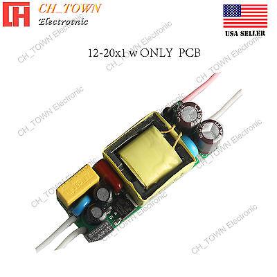 6-10x3w 600mA IP65 Waterproof Transformer Power Supply LED Driver AC12v dc1.3a