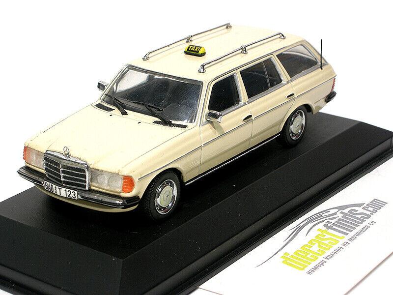 Mercedes-Benz 200 T W123 Kombi TAXI Beige (230 280 300 450) 1 43 Minichamps
