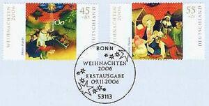 BRD-2006-Weihnachten-Nr-2569-2570-mit-Bonner-Ersttags-Sonderstempel-1A-159