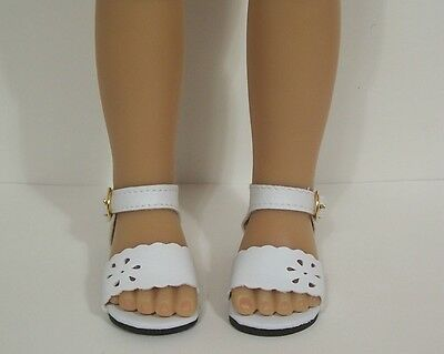 "Debs LAVENDER Summer Sandals Doll Shoes For Sonja Hartmann 18/"" Kidz n Cats"