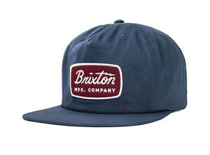 Image is loading BRIXTON-JOLT-HP-SNAPBACK-CAP-WASHED-NAVY 001eccecdd6d
