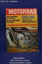 Das Motorrad 25/72 Yamaha DT 250 Schek BMW Wheelie