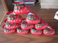 Christmas Wholesale Lot Of 10 Christmas Booties Baby Shoes 3 Long