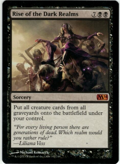 Magic The Gathering Cards Deck 2014 Liliana Vess NEW
