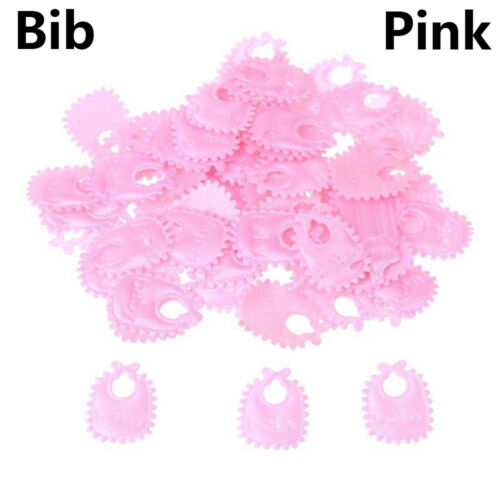 Favors Bib Birthday Confetti Baby Shower Decor Party Supplies Table Decoration